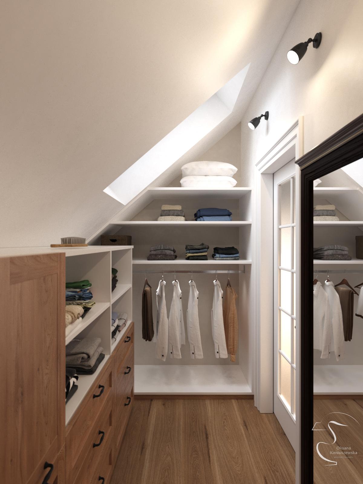 21 Garderoba sypialnia 1